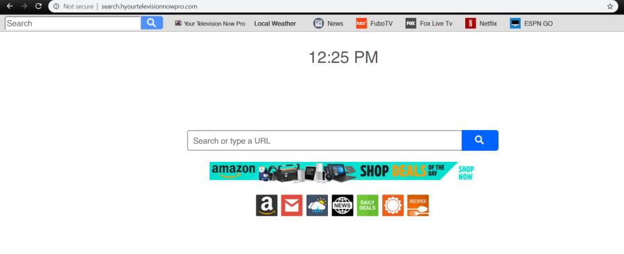 delete Search.hyourtelevisionnowpro.com virus