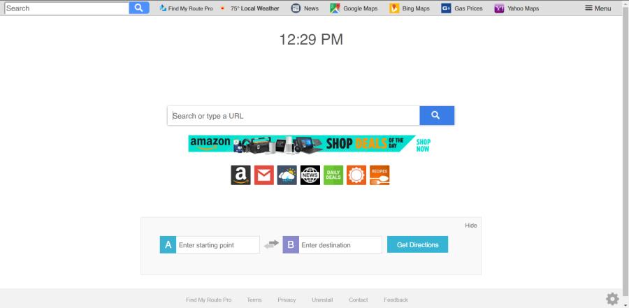 delete Search.hfindmyroutepro.com virus