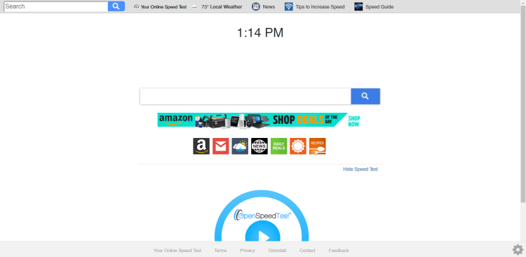 delete Search.hyouronlinespeedtestpro.com virus