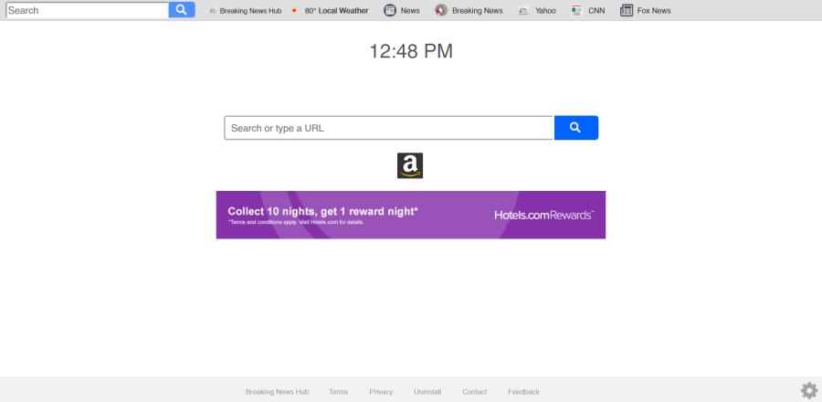 delete search.breakingnewshubtab.com virus