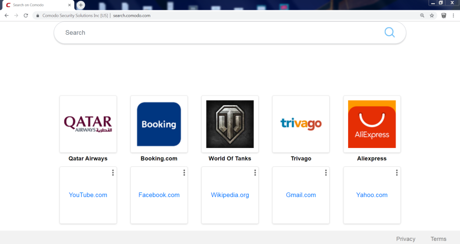 delete Search.comodo.com virus