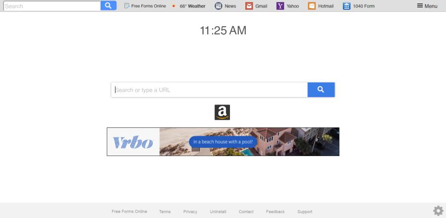 delete Search.freeformsonlinetab.com virus