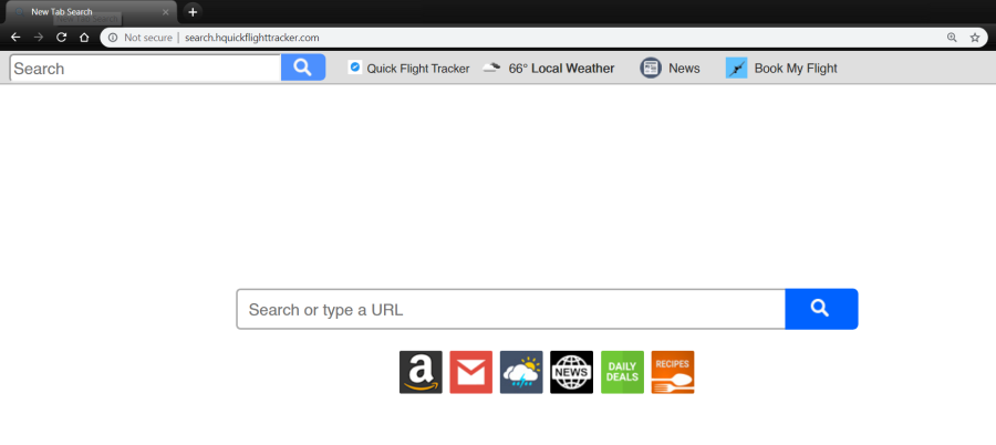 delete Search.hquickflighttracker.com virus