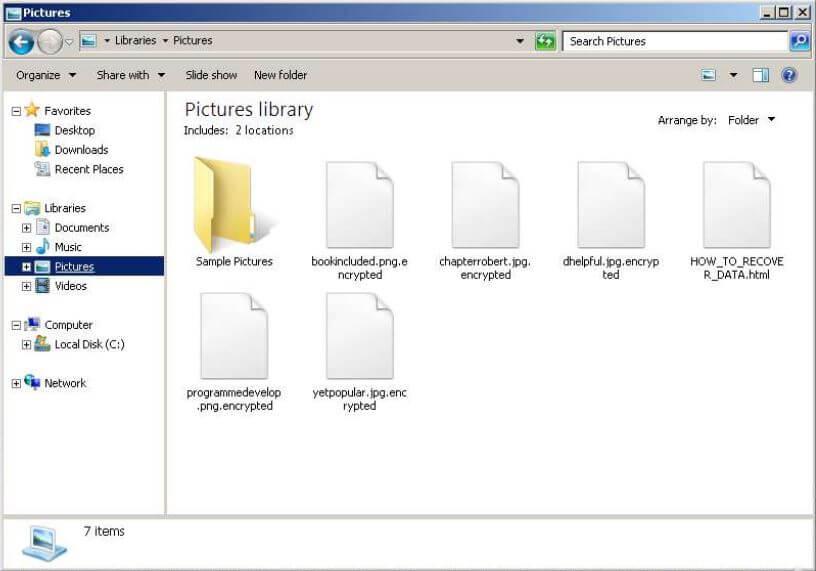 MedusaLocker files