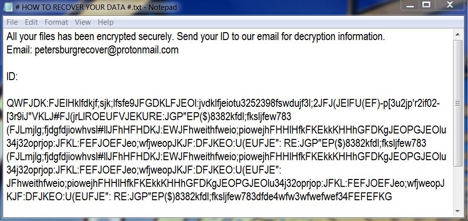 Mockba ransomware