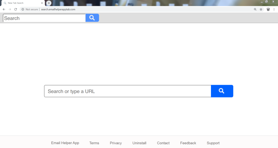 supprimer le virus Search.emailhelperapptab.com