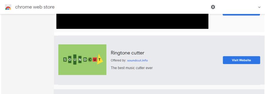 delete Ringtone cutter virus
