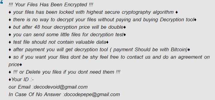 pepe ransomware