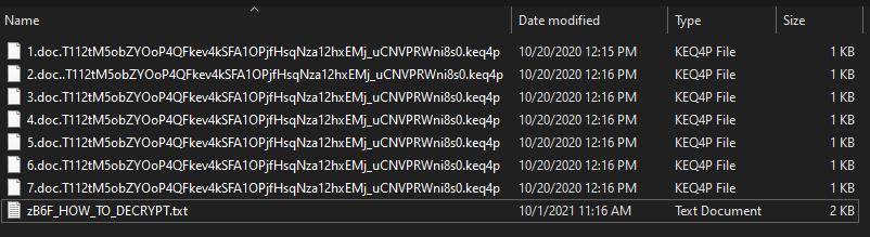 Keq4p ransomware